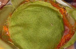 lasagne verdi di crespelle con zucca e toma di Sergio Barzetti