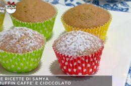 muffin al caffè e cioccolato