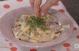 pasta con pere robiola e gorgonzola