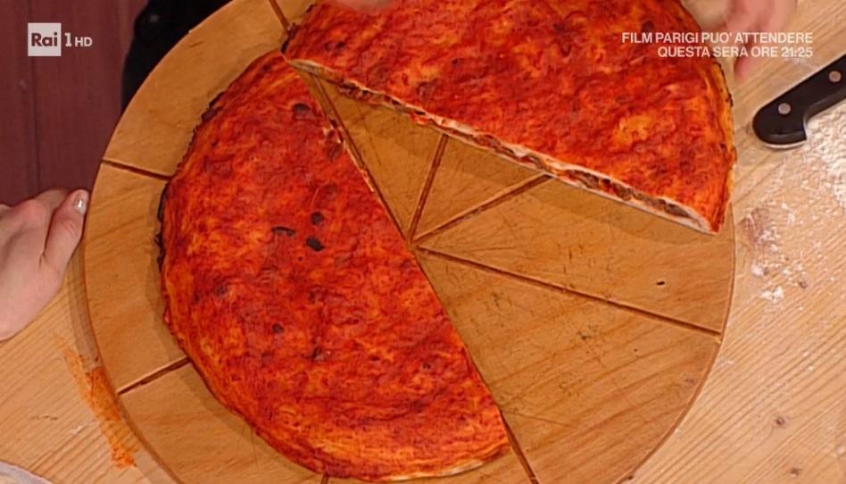 pizza con soffritto napoletano di Gino Sorbillo
