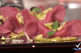 barchette mortadella e pistacchio