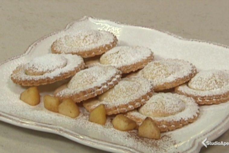 biscotti cuori di mela
