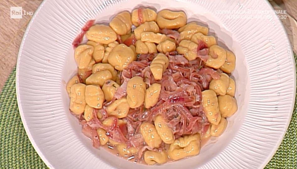 gnocchi di ceci con pancetta affumicata di Daniele Persegani