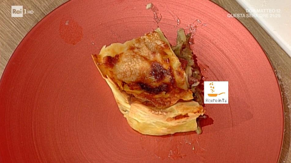 lasagne ai carciofi di Antonio Capitani