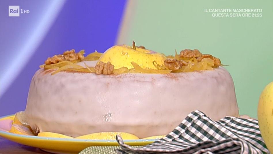 plumcake alle mele speziate di Sal De Riso