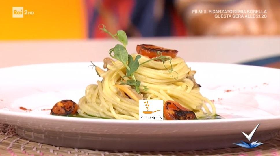 spaghetti cime di rapa e vongole di Ilario Vinciguerra