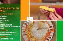 torta al cioccolato bianco di Alessandra Spisni