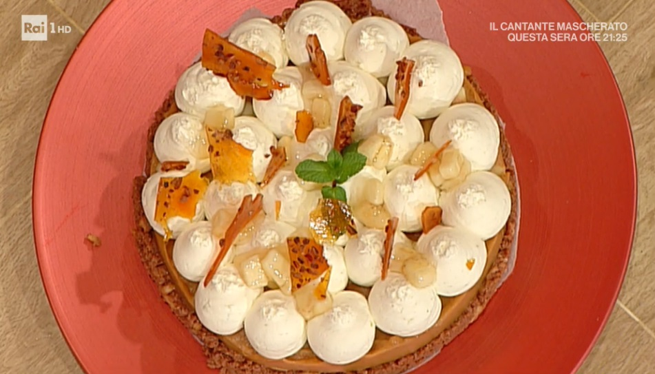 torta banana e cioccolato di Guido Castagna