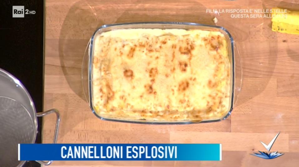 cannelloni esplosivi