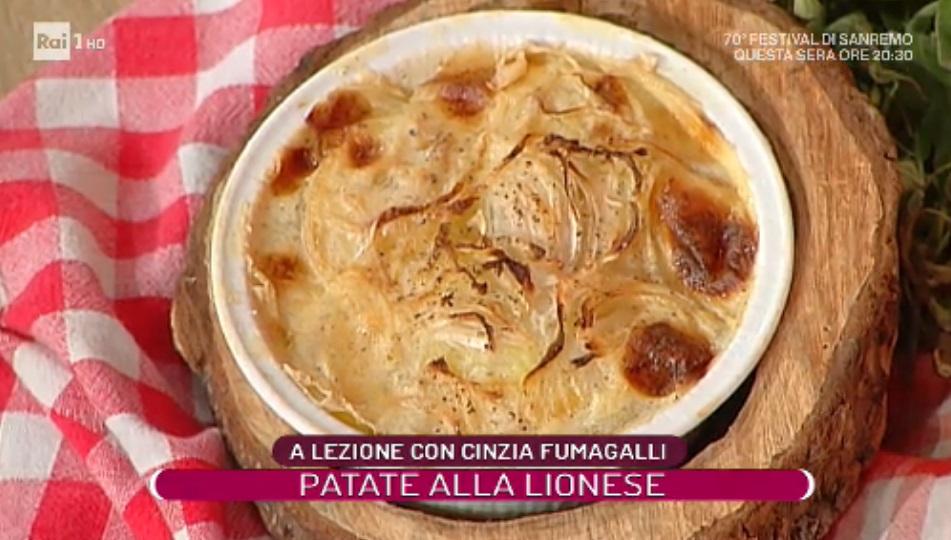 patate alla lionese di Cinzia Fumagalli