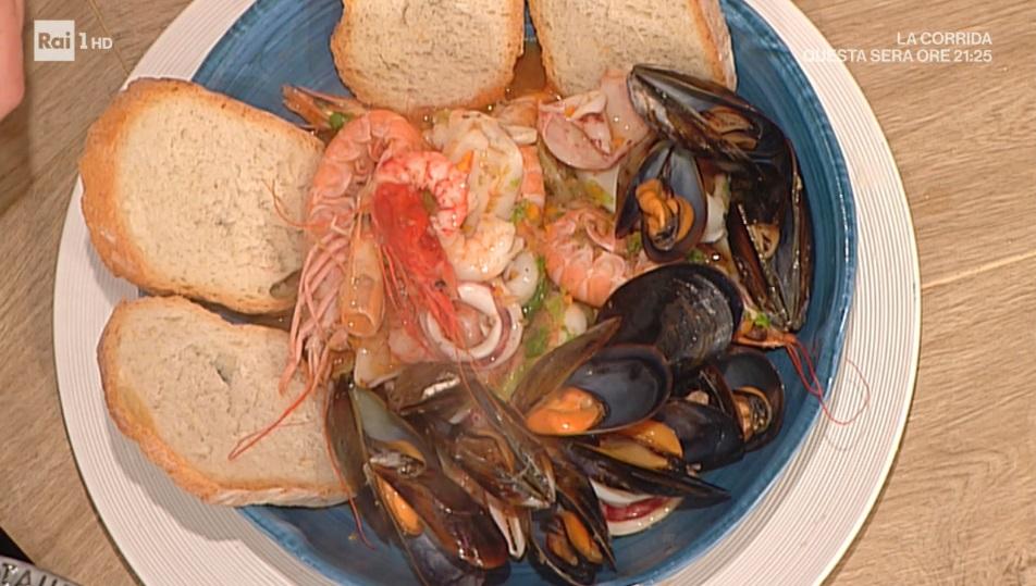 zuppa di pesce alla genovese di Ivano Ricchebono