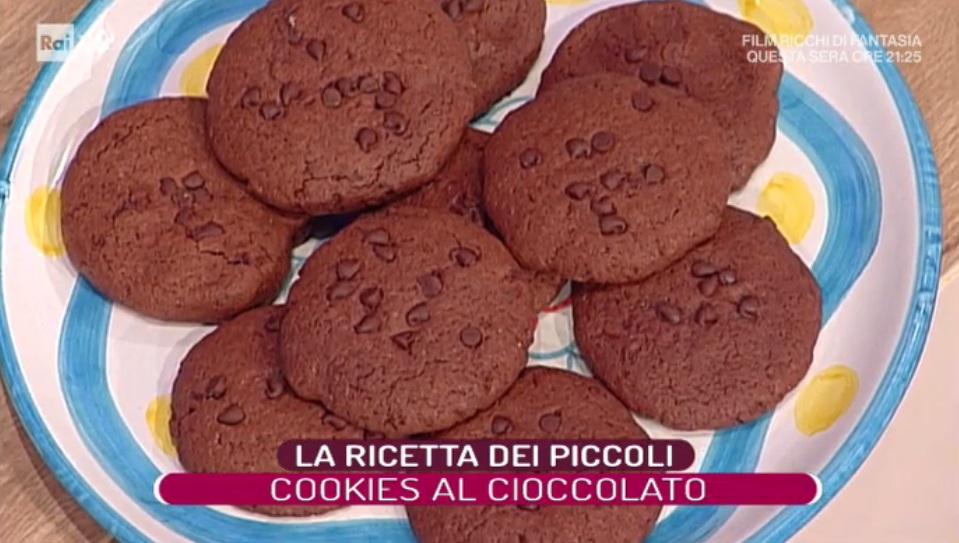 cookies al cioccolato di Elisa Isoardi