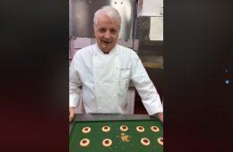 biscotti con confettura di Iginio Massari