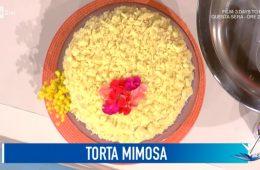 torta mimosa di Antonino Orfanò