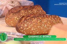 panino con frittata prosciutto cotto e maionese di Gabriele Bonci