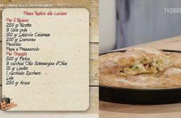 pizza rustica alla Luciana