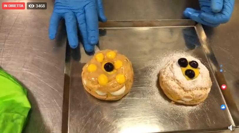 Zeppole di San Giuseppe al forno e fritte di Iginio Massari