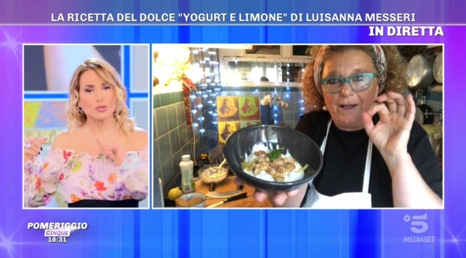 dolce fresco di yogurt e limone di Luisanna Messeri
