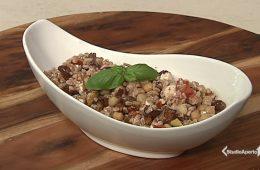 insalata fredda di farro e patate