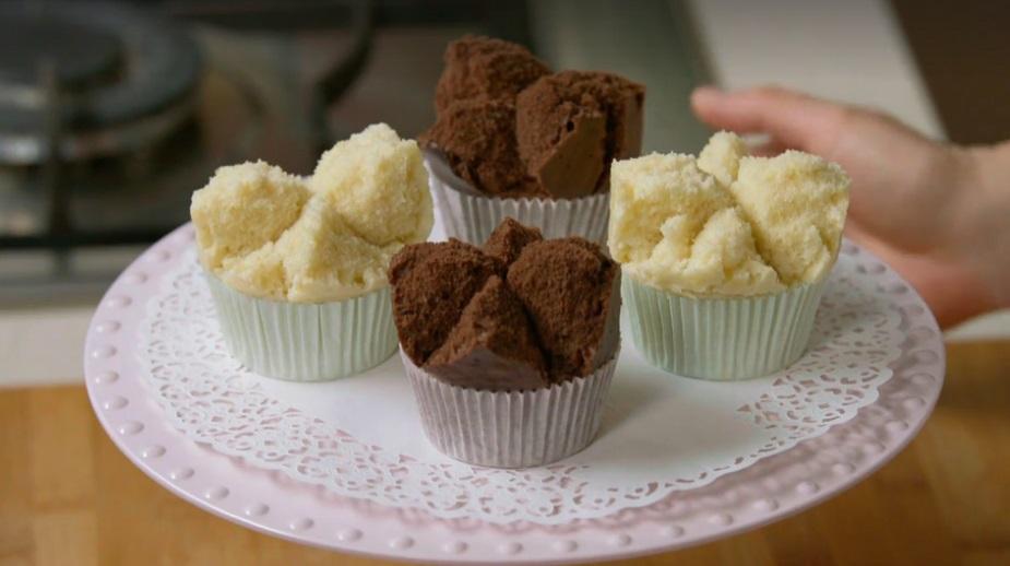 muffin giapponesi al vapore