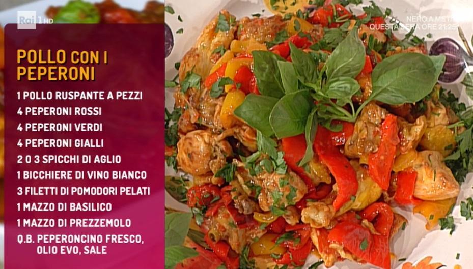 pollo con i peperoni di Marco Bottega
