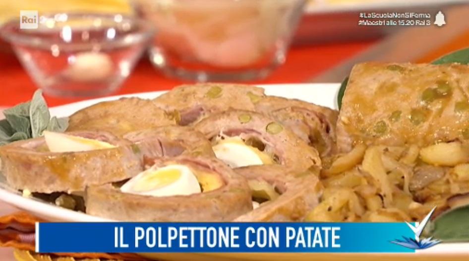 polpettone con patate di Beniamino Baleotti