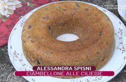 ciambellone alle ciliegie di Alessandra Spisni