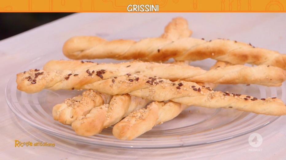Ricetta Grissini Bonci.Ricette All Italiana Ricetta Grissini Di Anna Moroni