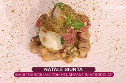 involtini siciliani con melanzane in agrodolce