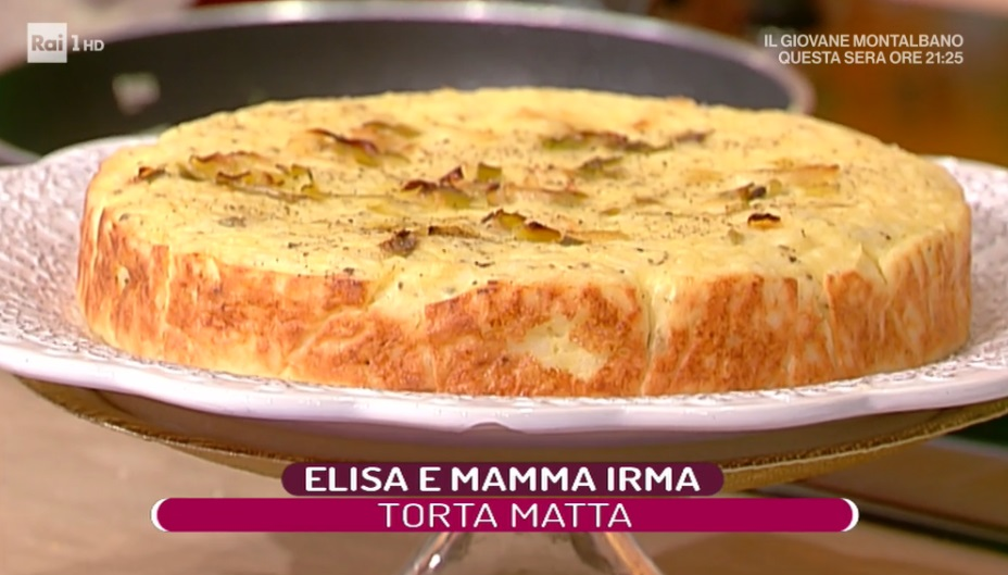 torta matta di Elisa Isoardi
