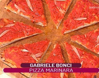 pizza marinara di Gabriele Bonci