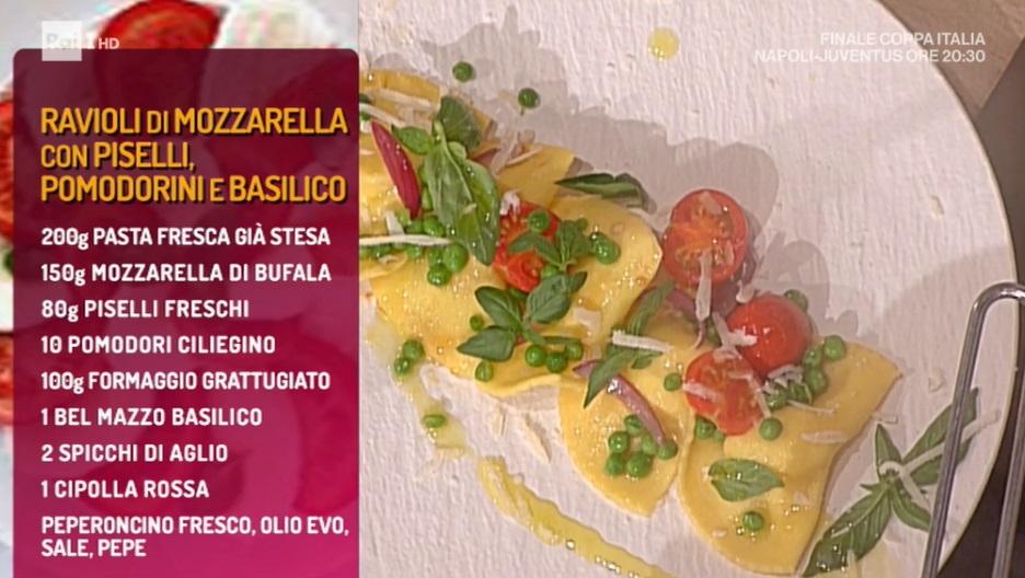 ravioli di mozzarella di Marco Bottega