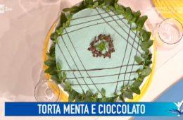 torta fredda menta e cioccolato di Beniamino Baleotti