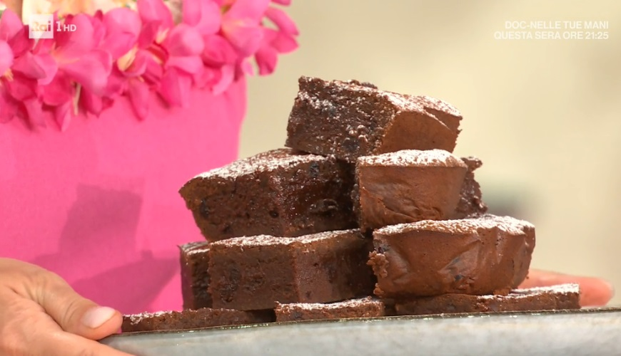 brownies all'amarena