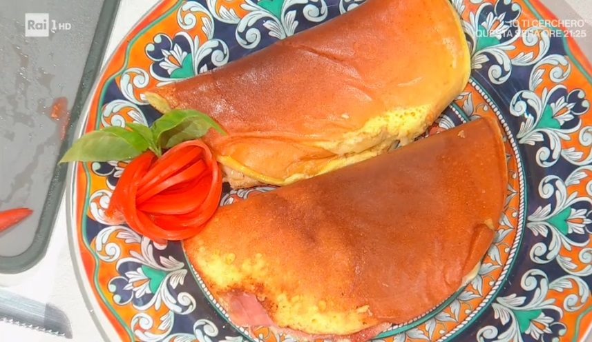 omelette soffice di Hiro Shoda