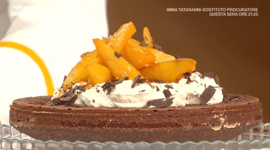 torta cioccolato e pere di Francesca Marsetti