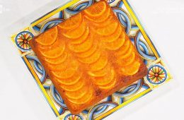 torta alle arance caramellate di Natalia Cattelani