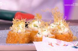 sushi di calamaro ripieno di Natale Giunta