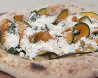 pizza tonda di stagione