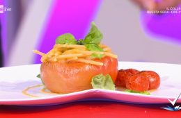 spaghetti ai 3 pomodori di Mattia Poggi