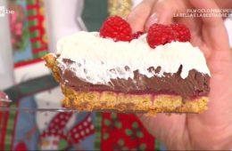torta ciocco lamponi