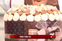 panettone farcito al cioccolato e rum di Luca Montersino