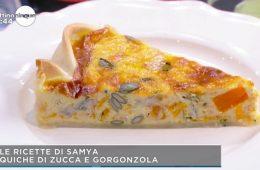 quiche zucca e gorgonzola