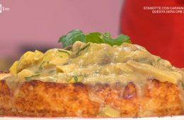 torta di riso con carciofi e toma di Sergio Barzetti