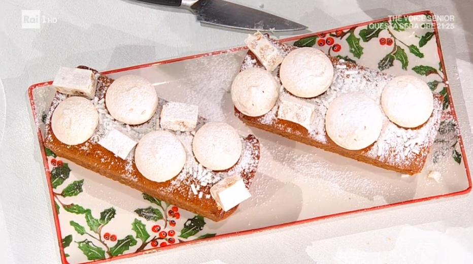 Tronchetto Di Natale Montersino.E Sempre Mezzogiorno Ricetta Pan Di Spezie Di Natale Di Luca Montersino