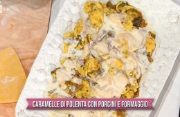 caramelle di polenta con porcini e formaggio di Daniele Persegani