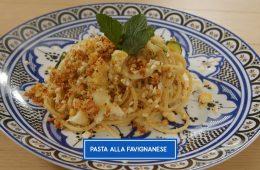 pasta Favignana