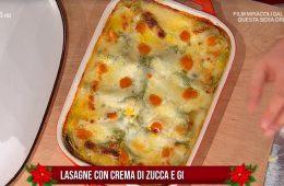 lasagne con crema di zucca e gorgonzola di Daniele Persegani