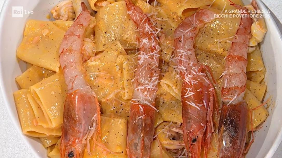 carbonara di pesce di Simone Buzzi