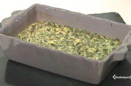 frittata di farina di ceci e spinaci